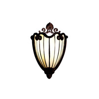 Kichler Lighting Clarice 1 Light Wall Sconce in Tannery Bronze w/ Gold Accent 69043