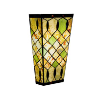 Kichler Lighting Woodbury 1 Light Fluorescent Sconce in Oiled Bronze 69078 photo thumbnail