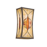 Kichler Lighting Cats Eye 1 Light Wall Sconce in Olde Bronze 69093 photo thumbnail