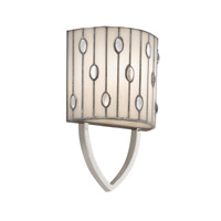Kichler Lighting Cloudburst 1 Light Wall Sconce in Polished Nickel 69094 photo thumbnail