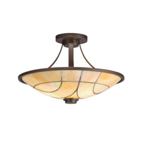 Kichler Lighting Spyro 2 Light Semi-Flush in Olde Bronze 69125 photo thumbnail