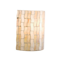 Kichler Lighting Modern Mosaic 1 Light Wall Sconce in Antique Pewter 69150 photo thumbnail