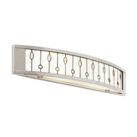 Kichler Lighting Cloudburst 2 Light Bath Vanity in Polished Nickel 69157 photo thumbnail