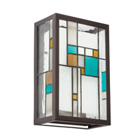 Kichler Lighting Caywood 2 Light Wall Sconce in Olde Bronze 69192