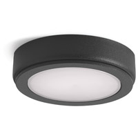 6D Series 24V LED 3 inch Textured Black Puck Light