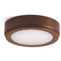 Kichler 6D24V27BZT 6D Series 24V LED 3 inch Bronze Textured Puck Light