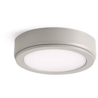 Kichler 6D24V27NIT 6D Series 24V LED 3 inch Nickel Textured Puck Light