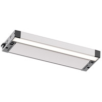 6U Series LED LED 12 inch Nickel Textured Under Cabinet Lighting