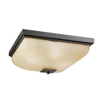Kichler 7011OZ Signature 4 Light 18 inch Olde Bronze Outdoor Flush Mount