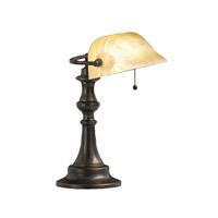 Kichler Lighting Clayton 1 Light Desk Lamp in Bronze 70407CA photo thumbnail