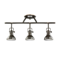 Kichler 7050OZ Hatteras Bay 3 Light Olde Bronze Rail Light Ceiling Light, MR16 photo thumbnail
