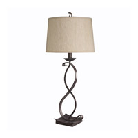 Kichler Lighting High Country 1 Light Table Lamp in Old Iron 70573CA