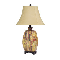 Kichler Lighting Urban Traditions Porcelain 1 Light Table Lamp in Hand Painted Porcelain 70632CA
