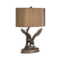 Kichler Lighting Dakota Ridge 1 Light Desk Lamp in Aged Bronze 70643 photo thumbnail