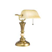 Kichler Lighting Kirketon 1 Light Desk Lamp in Antique Brass 70651 photo thumbnail