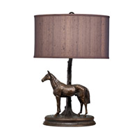 Kichler Lighting Dakota Ridge 1 Light Desk Lamp in Burnish Copper Bronze 70658