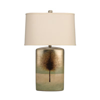 Kichler Lighting The Woodlands 1 Light Table Lamp in Hand Painted Porcelain 70690CA
