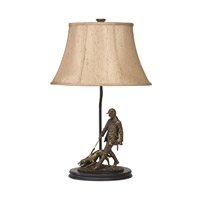 Kichler Lighting Dakota Ridge 1 Light Desk Lamp in Antique Bronze 70715CA