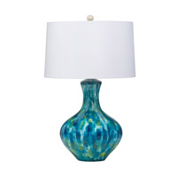 Kichler Lighting Blue Cascade 1 Light Table Lamp in Hand Painted Porcelain 70735