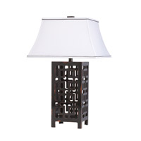 Kichler Lighting Fretwork 1 Light Table Lamp in Hand Painted 70765CA photo thumbnail
