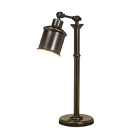 Kichler Lighting Signature 1 Light Desk Lamp in Bronze 70776CA photo thumbnail