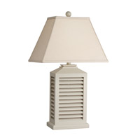 Kichler Lighting Cottage 1 Light Table Lamp in White 70790CA