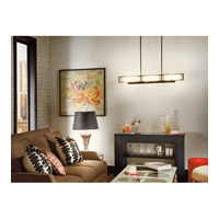 Kichler Lighting Quicksilver 1 Light Table Lamp in Reverse Painted Glass 70808 alternative photo thumbnail