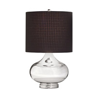 Kichler Westwood Obsidian 1 Light Table Lamp in Mercury Glass 70829CA