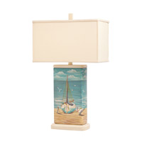 Kichler Lighting Signature 1 Light Table Lamp in Hand Painted Porcelain 70832 photo thumbnail