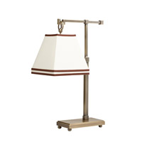 Kichler Lighting Signature 1 Light Desk Lamp in Antique Brass 70845