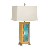 Kichler Westwood Trivet 2 Light Table Lamp in Brushed Nickel 70849