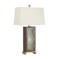 Kichler Westwood Trivet 2 Light Table Lamp in Antique Brass 70849AB