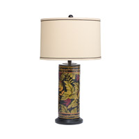 Kichler Lighting Westwood St. Kitts 1 Light Table Lamp in Hand Painted Porcelain 70852CA