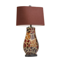 Kichler Westwood Amondi 1 Light Table Lamp in Hand Painted Porcelain 70876