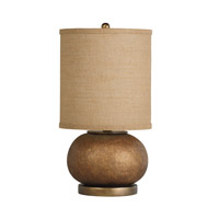 Kichler Westwood Chaka 1 Light Table Lamp in Composite 70881CA photo thumbnail
