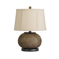 Kichler Westwood Chaka 1 Light Table Lamp in Composite 70884CA photo thumbnail