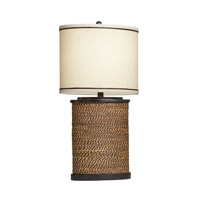Kichler Westwood Spool 1 Light Table Lamp in Natural 70885CA
