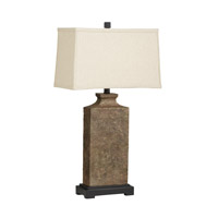 Kichler Westwood Chaka 1 Light Table Lamp in Composite 70886CA photo thumbnail