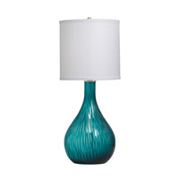 Kichler Westwood Dharma 1 Light Table Lamp in Aqua 70888 photo thumbnail