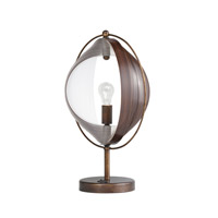 Kichler Westwood Whirl 1 Light Accent Table Lamp in Bronze 70892 alternative photo thumbnail