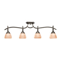 Kichler Lighting Olympia 4 Light Rail Light in Olde Bronze 7703OZ