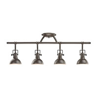 Kichler Lighting Fixed Rail 4 Light Rail Light in Olde Bronze 7704OZ