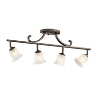 Kichler Lighting Wellington Square 4 Light Rail Light in Olde Bronze 7706OZ