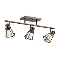 Kichler Lighting Saddler 3 Light Rail Light in Olde Bronze 7725OZ photo thumbnail