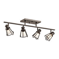 Kichler Lighting Saddler 4 Light Rail Light in Olde Bronze 7726OZ photo thumbnail