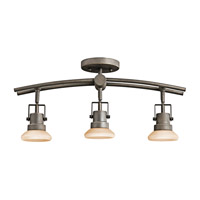 Kichler Lighting Structures 3 Light Rail Light in Olde Bronze 7754OZ photo thumbnail