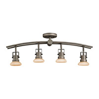 Kichler Lighting Structures 4 Light Rail Light in Olde Bronze 7755OZ photo thumbnail
