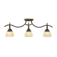 Kichler Lighting Olympia 3 Light Rail Light in Olde Bronze 7779OZ photo thumbnail