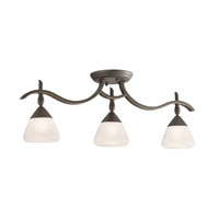 Kichler Lighting Olympia 3 Light Rail Light in Olde Bronze 7779OZW photo thumbnail