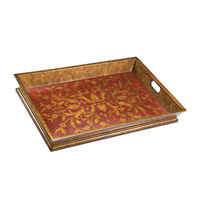 Kichler Lighting Chalmette Decorative Tray in Antique Red 78046 photo thumbnail